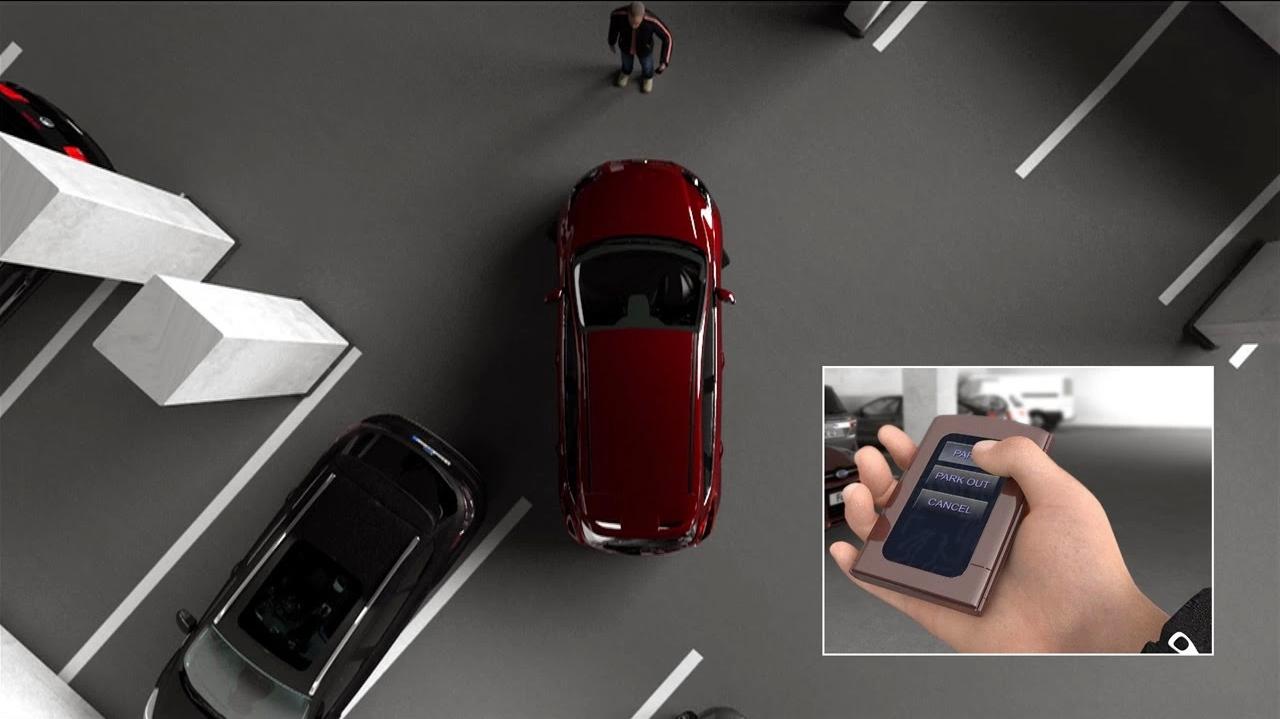 Ford: Đỗ xe tự động bằng 1 nút bấm 1